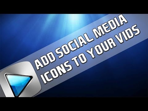 How To: Add Social Media Icons to Videos in Sony Vegas Pro 11, 12 and 13
