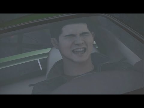 Need for Speed Carbon - Kenji falls off a cliff [CUTSCENE]