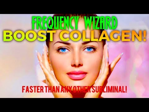 BOOST TONS OF COLLAGEN PRODUCTION IN YOUR FACE FAST! POWERFUL SUBLIMINAL AFFIRMATIONS MEDITATION
