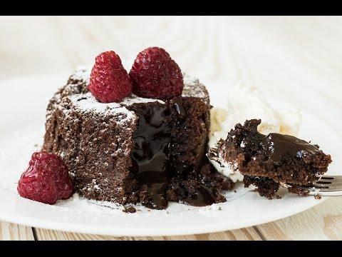 Molten Lava Chocolate Cake Recipe - The Easiest, Most Delicious Chocolate Lava Cake!