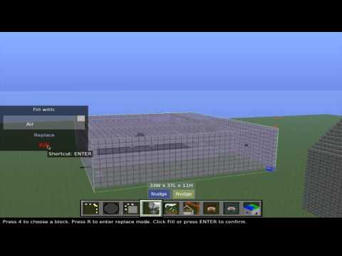 How To Remove Large Buildings In Minecraft