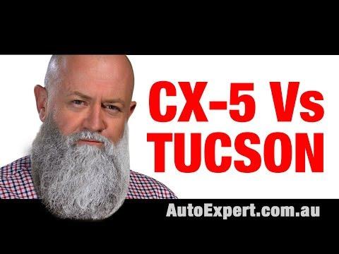 Mazda CX-5 versus 2019 Hyundai Tucson (Warning: contains nuts) | Auto Expert John Cadogan