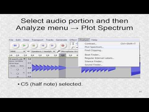 Tutorial 2. Creating Audio with PySynth