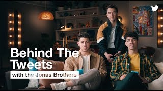 #BehindTheTweets with Jonas Brothers | Twitter