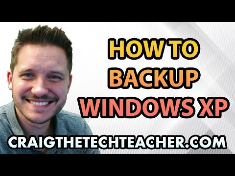 Windows XP Backup