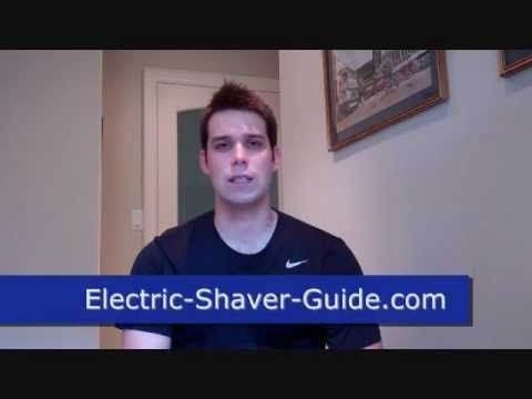 How to Use an Electric Shaver - Quick Tutorial