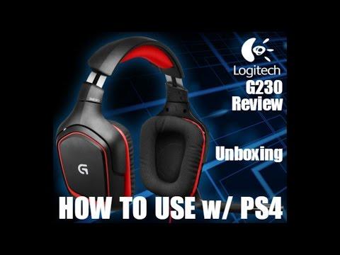 Logitech G430 PS4 Setup - Logitech Ps4 Headphones