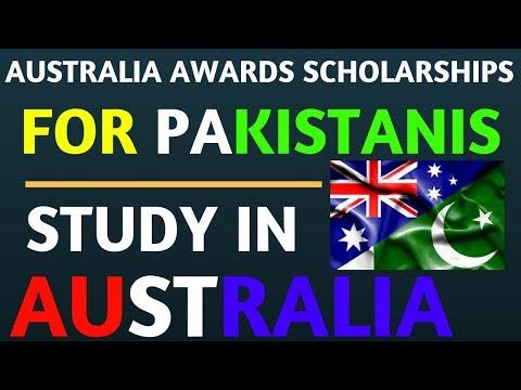 Study in Australia Scholarships for Pakistani Students