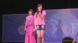 JKT48 3rd Gen Skill Performance.  @ JKT48 Flying Get Handshake Festival, Balai Kartini, Jakarta.