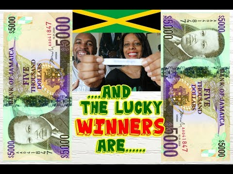 ITS Raffle Winners Announced |Ten Thousand Jamaican Dollars|