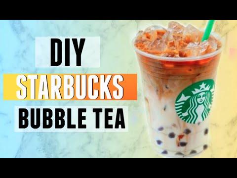 DIY Starbucks Boba / Bubble Tea | Iced Caramel Macchiato Recipe! 2015