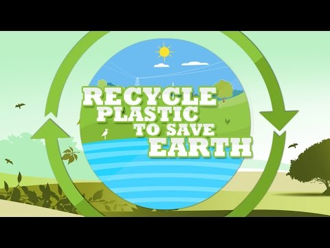 Recycle Plastic and Save Earth