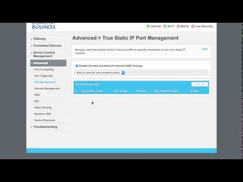 How To Setup Wifi Comcast Business Gateway