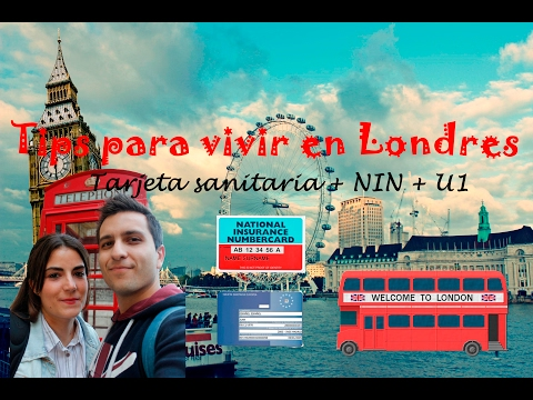 Cómo conseguir el NIN desde España y qué hacer al volver | VIVIR EN LONDRES #Tip 2