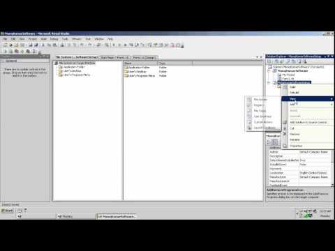 Step By Step To Create Setup exe For VB NET Project in vs2008