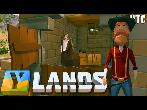 SADDLE UP! How To Build A Horse Stable :: Ylands Ep. 5