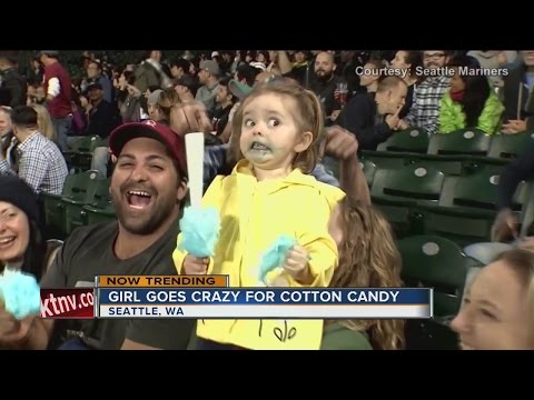 NOW TRENDING: Cotton-candy Girl