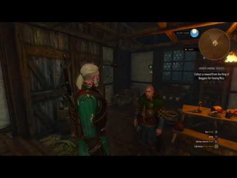 The Witcher 3: King Of Beggars End Walk Through