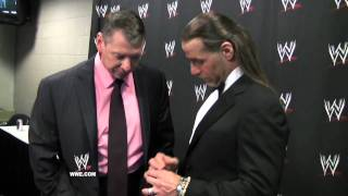 WrestleMania XXVII Diary: Shawn Michaels receives his Hall of Fame ring