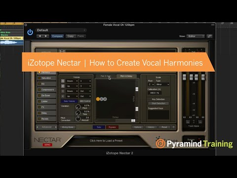 iZotope Nectar | How to Create Vocal Harmonies