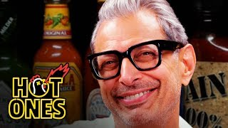 Download Jeff Goldblum Says He Likes to Be Called Daddy While Eating Spicy Wings | Hot Ones Video