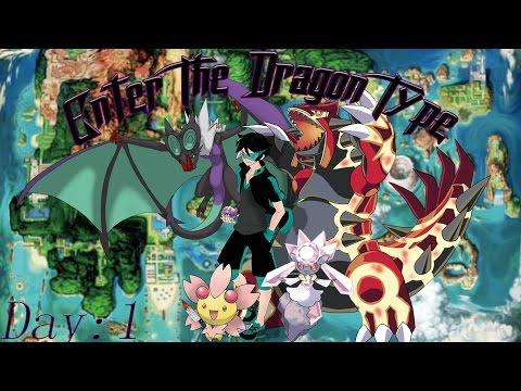 Pokemon ORAS Enter The Dragon Type Day:1 Pt:3 Scarfed Darkrai 0_0
