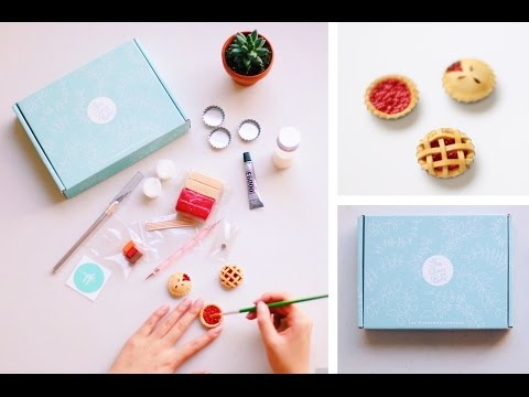 SECRET PROJECT REVEAL 🎉 + CHERRY PIES POLYMER CLAY TUTORIAL ✨