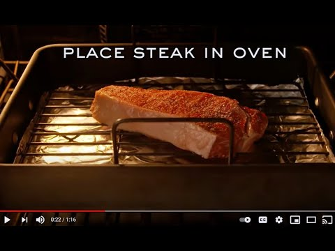 How To Cook A Steak: The Reverse Sear Method