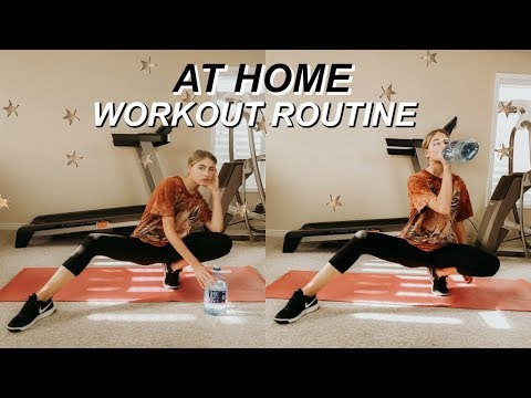 AT HOME Workout Routine | Marla Catherine