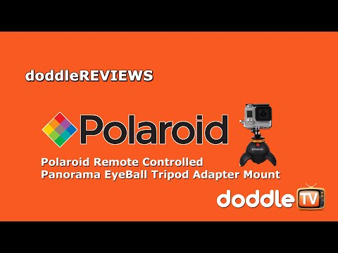 Doddle REVIEWS - Polaroid Eyeball Remote Controlled Panoramic Mount.