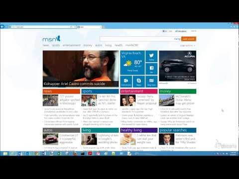 How to turn off or on pop up blocker on Internet Explorer for Windows 8