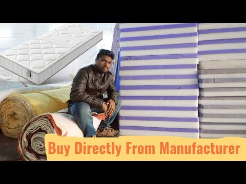 How Mattress Are Made | Buy Directly From Manufacturer | What Mattress Is Best For You