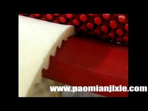 Pyramid Foam, Acoustic eggcrate foam cutting machine