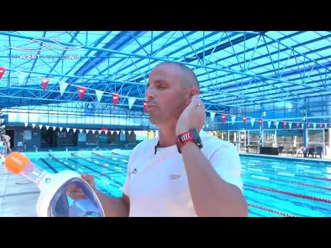 Swimming tips to swim with the full face mask TRIBORD