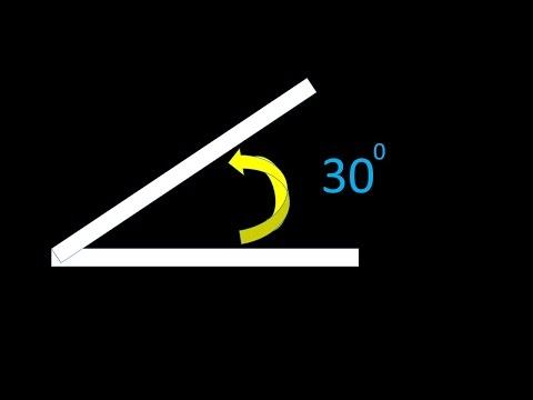 AutoCAD - Draw a line with an Angle (Basic)