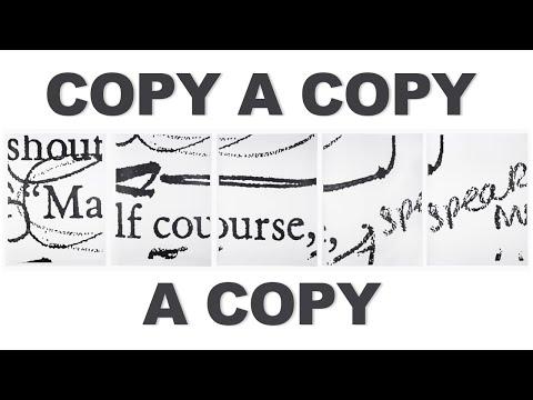 Copy a Copy a Copy - Molly Springfield | The Art Assignment | PBS Digital Studios