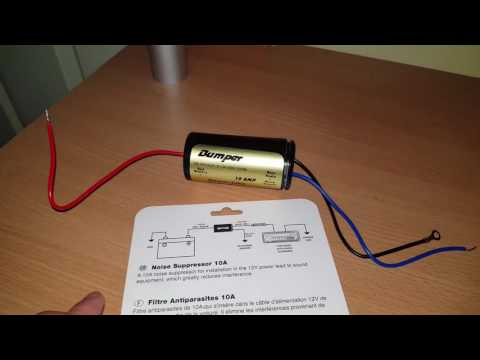 What's inside a 10A Noise suppressor? Ebay 10A noise suppressor
