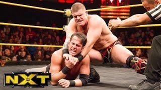 Roderick Strong vs. Steve Cutler: WWE NXT, Jan. 18, 2017