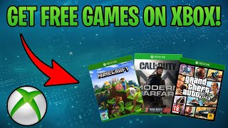 *NEW* How To Get FREE Games On Xbox One! (XBOX APPROVED METHODS!)