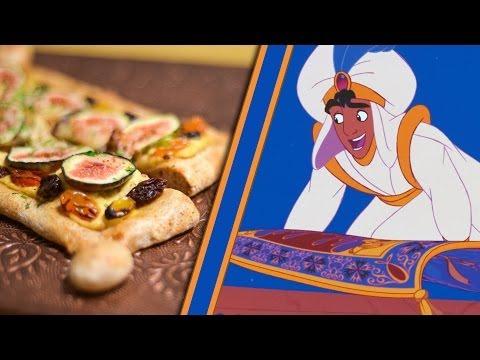 Aladdin's Magic Carpet Flatbread Pizza | Inspired by Disney's Aladdin