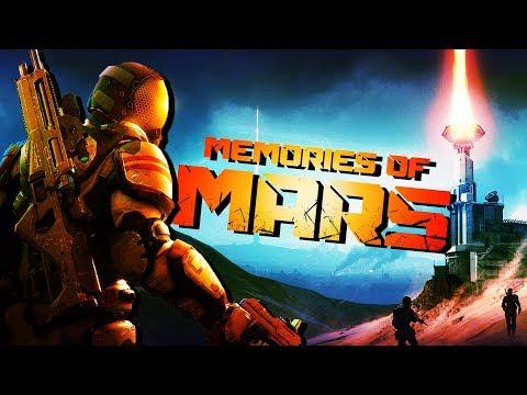 Exploring Mars and Scavenging Resources! - Memories of Mars Gameplay