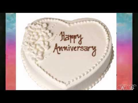 wedding anniversary video with your name, picture, song & message