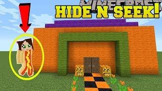Minecraft: COSTUMES HIDE AND SEEK!! - Morph Hide And Seek - Modded Mini-Game
