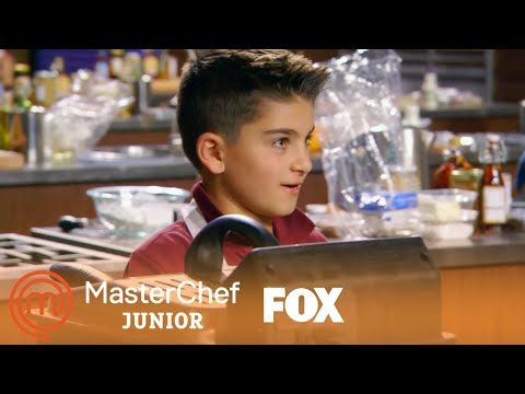 Mikey Makes Cannolis | Season 6 Ep. 6 | MASTERCHEF JUNIOR