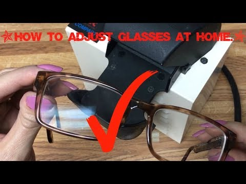 How to Adjust Your Plastic Frames at Home.