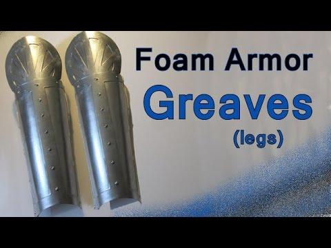 Make Foam Armor Greaves (Legs)