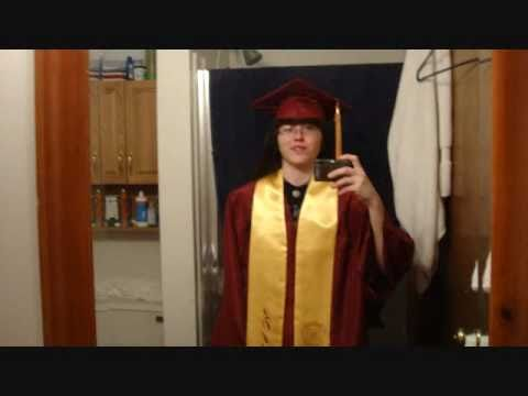 Graduation Cap and Gown - (5.6.11 Day 72)