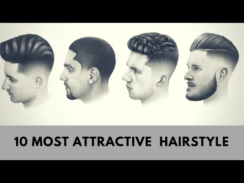 10 MOST ATTRACTIVE MEN HAIRSTYLE | 10 Best Stylish Haircuts For Men 2017-2018-Haircuts For Men