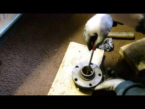 Changing A6 C4 rear wheel bearings