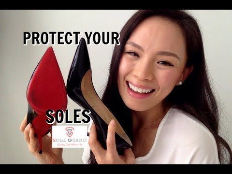 Protect Your Red Christian Louboutin Soles | Sole Guard | Decollette 554 100